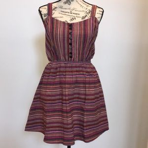 Lucca couture pink multi colored dress